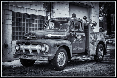 Classic Tow Truck