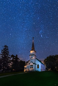Tabor Church Under the Stars
