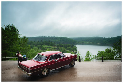 '64 Chevelle at Lake George Overlook