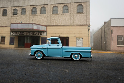'56 Chevrolet Pickup at Durand Theatre