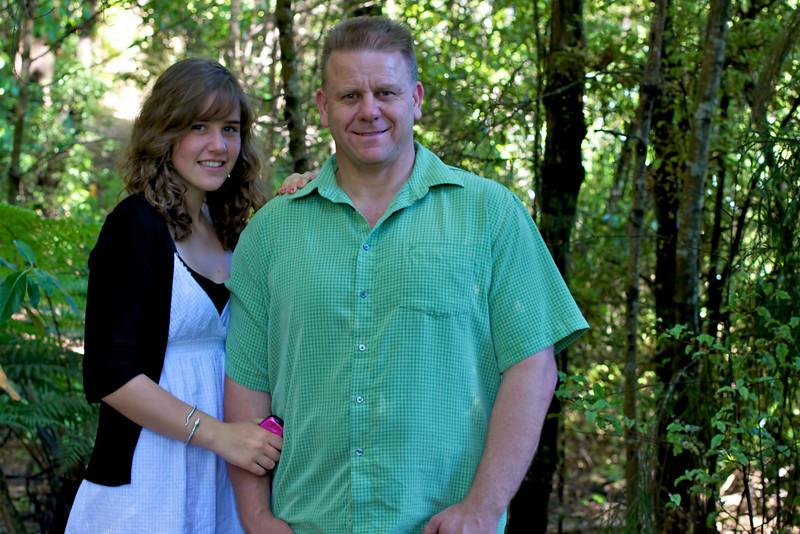 Tony and Dana Christmas Card Shoot Pinehaven Reserve 2008