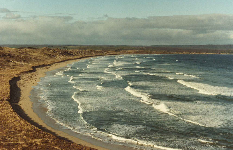 Petre Bay, Chatham Islands early 1980s