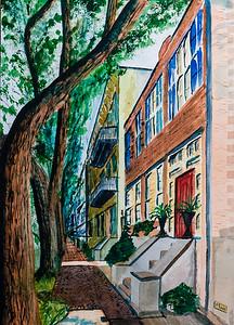 Savannah, Georgia Street