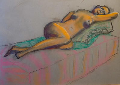 My Monday Pastel Drawing