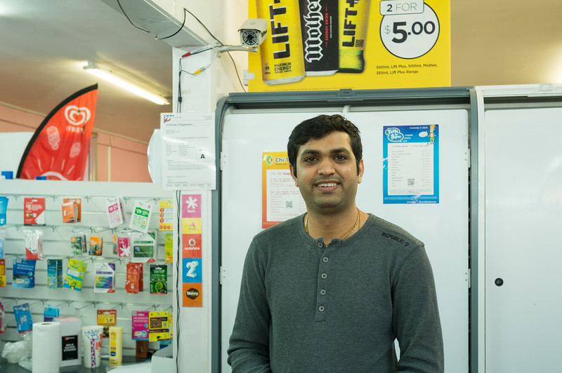 """I have travelled all over the world. New Zealand is a great place to live"" - Ankit, Westport -originally from Gujarat, India."