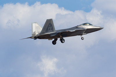 "-(Aircraft) Lockheed Martin F-22A Raptor -(Nation & Service) United States Air Force -(Squadron) 27th Figher Squadron ""Fighting Eagles"" -(Home Base) Joint Base Langley–Eustis, Virginia"