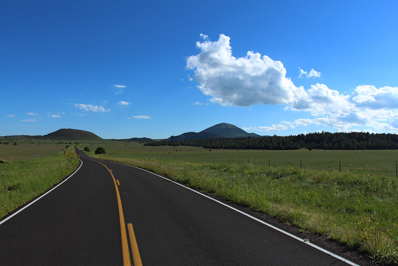 -Capulin Volcano National Monument, New Mexico.