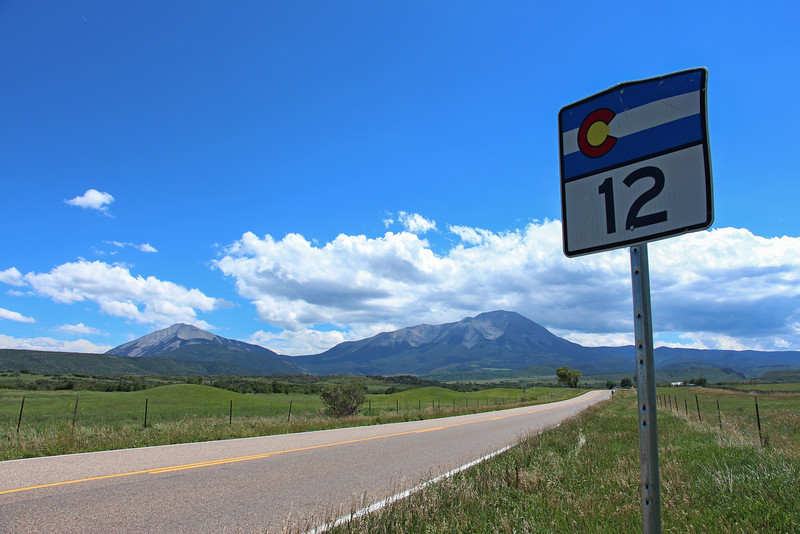 -Spanish Peaks, Highway of Legends, Colorado