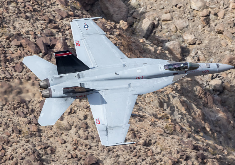 "-(Aircraft) Boeing F/A-18E Super Hornet<br /> -(Nation & Service) United States Navy<br /> -(Squadron) Air Test and Evaluation Squadron 31 ""Dust Devils"" <br /> -(Home Base) Naval Air Weapons Station China Lake, California"