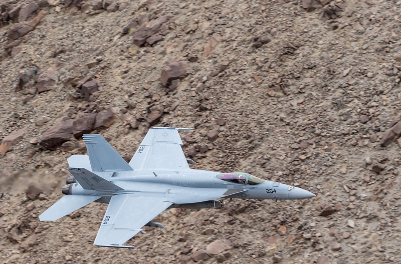 "-(Aircraft) Boeing F/A-18E Super Hornet<br /> -(Nation & Service) United States Navy<br /> -(Squadron) Strike Fighter Squadron 14 ""Tophatters""<br /> -(Home Base) Naval Air Station Lemoore, California"