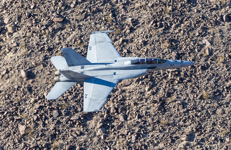 "-(Aircraft) Boeing F/A-18F Super Hornet <br /> -(Nation & Service) United States Navy<br /> -(Squadron) Air Test and Evaluation Squadron 9 ""Vampires"" <br /> -(Home Base) Naval Air Weapons Station China Lake, California"