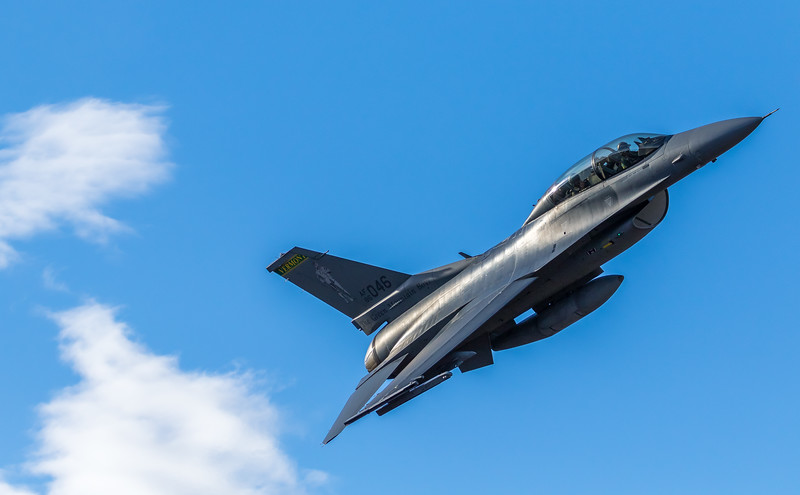 "-(Aircraft) General Dynamics F-16D Fighting Falcon<br /> -(Nation & Service) United States Air Force<br /> -(Squadron) 134th Fighter Squadron ""The Green Mountain Boys""<br /> -(Home Base) Burlington Air National Guard Base, Vermont"
