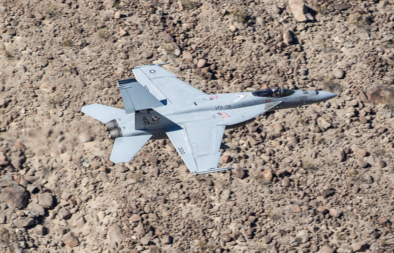 "-(Aircraft) Boeing F/A-18E Super Hornet<br /> -(Nation & Service) United States Navy<br /> -(Squadron) Strike Fighter Squadron 136 ""Knighthawks""<br /> -(Home Base) Naval Air Station Lemoore, California"