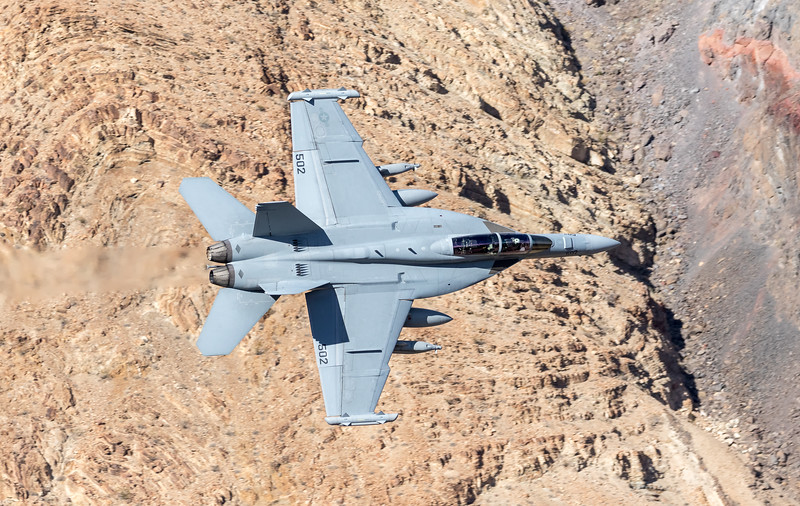 "-(Aircraft) Boeing EA-18G Growler<br /> -(Nation & Service) United States Navy<br /> -(Squadron) Air Test and Evaluation Squadron 9 ""Vampires"" <br /> -(Home Base) Naval Air Weapons Station China Lake, California"