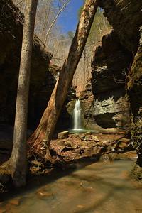 Fuzzy Butt Falls - Ozark National Forest - 3/20/21
