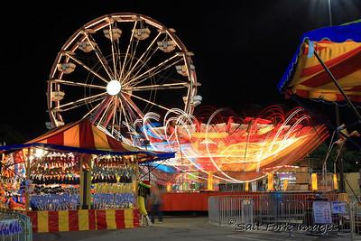 A slow night at the Carnival - Ridgmar Mall - 6/1/11