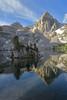 Upper Rae Lake - Sierra Nevada Mountains - Kings Canyon National Park