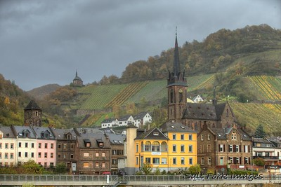 Another village along the Rhine River in Germany