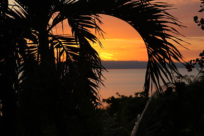 Caribbean Sunset - Wahoo Bay, Haiti