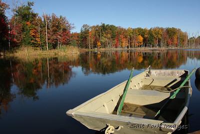 Fall Reflections in Michigan