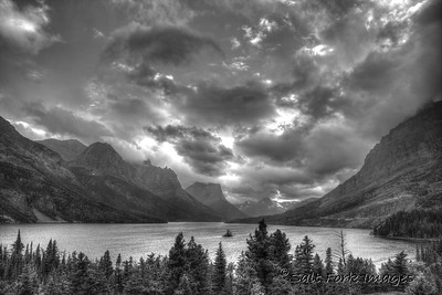 The light wasn't very good on the first day in Glacier National Park so I cooked these shots up a little with Photomatix.  In a few years I won't remember how dull it really looked and I'll start to like the way these turned out......