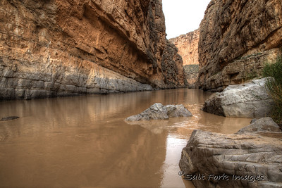 Santa Elena Canyon - Rio Grande River - U.S. / Mexican Border - Big Bend National Park - 2015