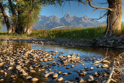 Ditch Creek in Antelope Flats - Grand Teton National Park - Wyoming