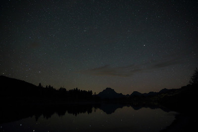 Oxbow Bend by Starlight - GTNP