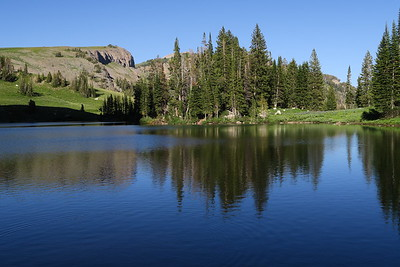 Marion Lake - Top of Granite Canyon - Grand Teton National Park