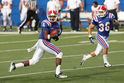 Quinton Patton off to the races!  Louisiana Tech beat UT San Antonio 51-27.