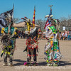 Native American Dancers Present the Flags