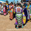 Female Dancers at the Powwow