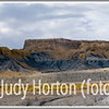 A panoramic view of rock formations along Interstate 70 in Utah not far from Green River, Utah