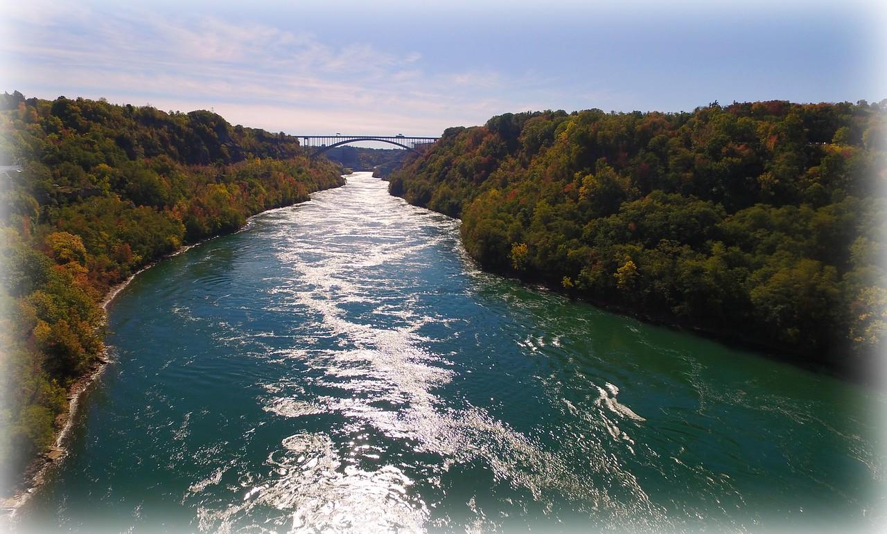 The mighty Niagara River.