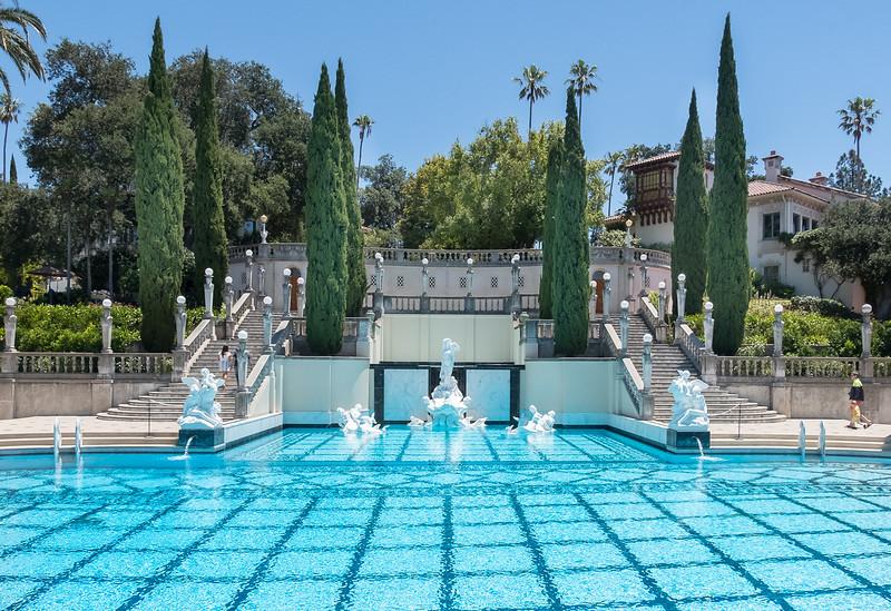 Hearst Castle Swimming Pool, San Simeon, California