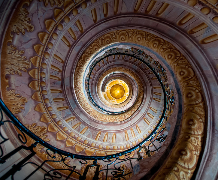 Melk Stairwell 4541