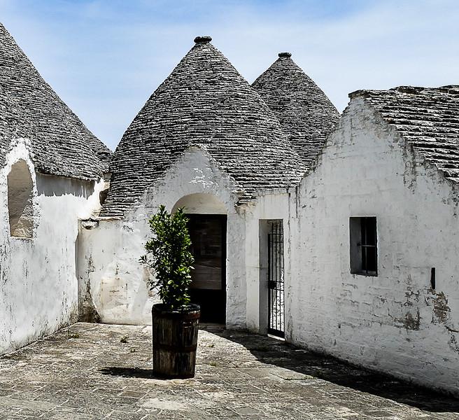 Trullo Homes - Alberobello.  June 2016