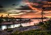 Franklin Island Sunset - Landscape - Honourable Mention (23.5)