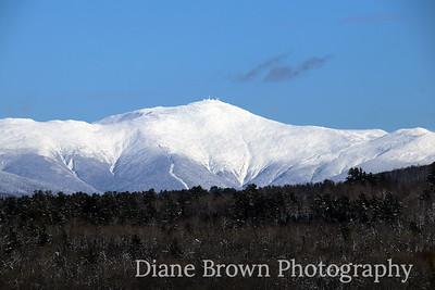 Mount Washington in Winter