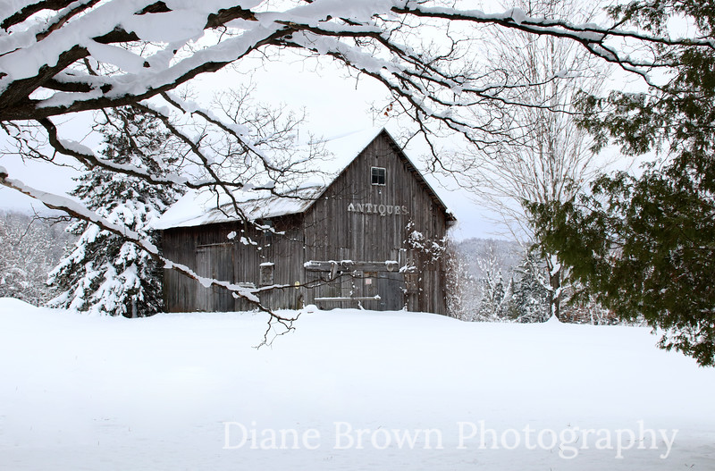 Old Antiques Barn