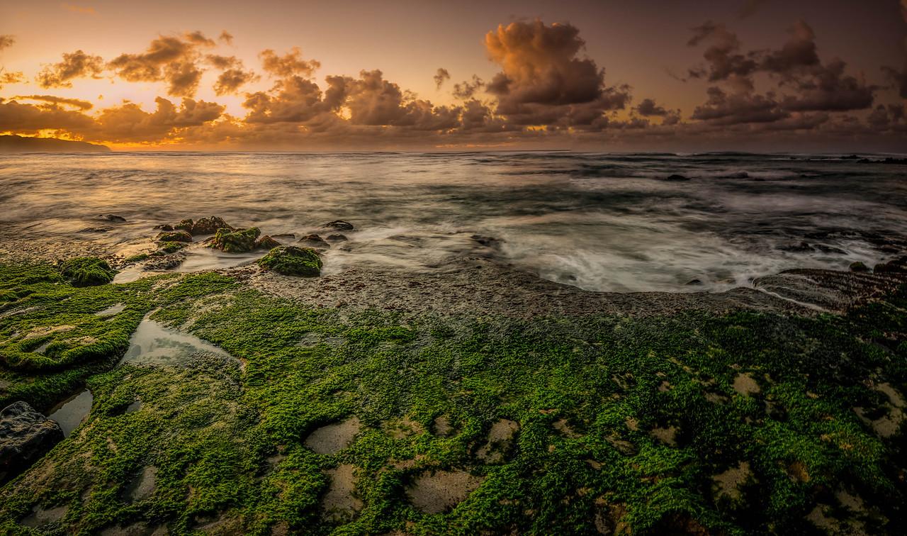 Sunset in Hawai'i