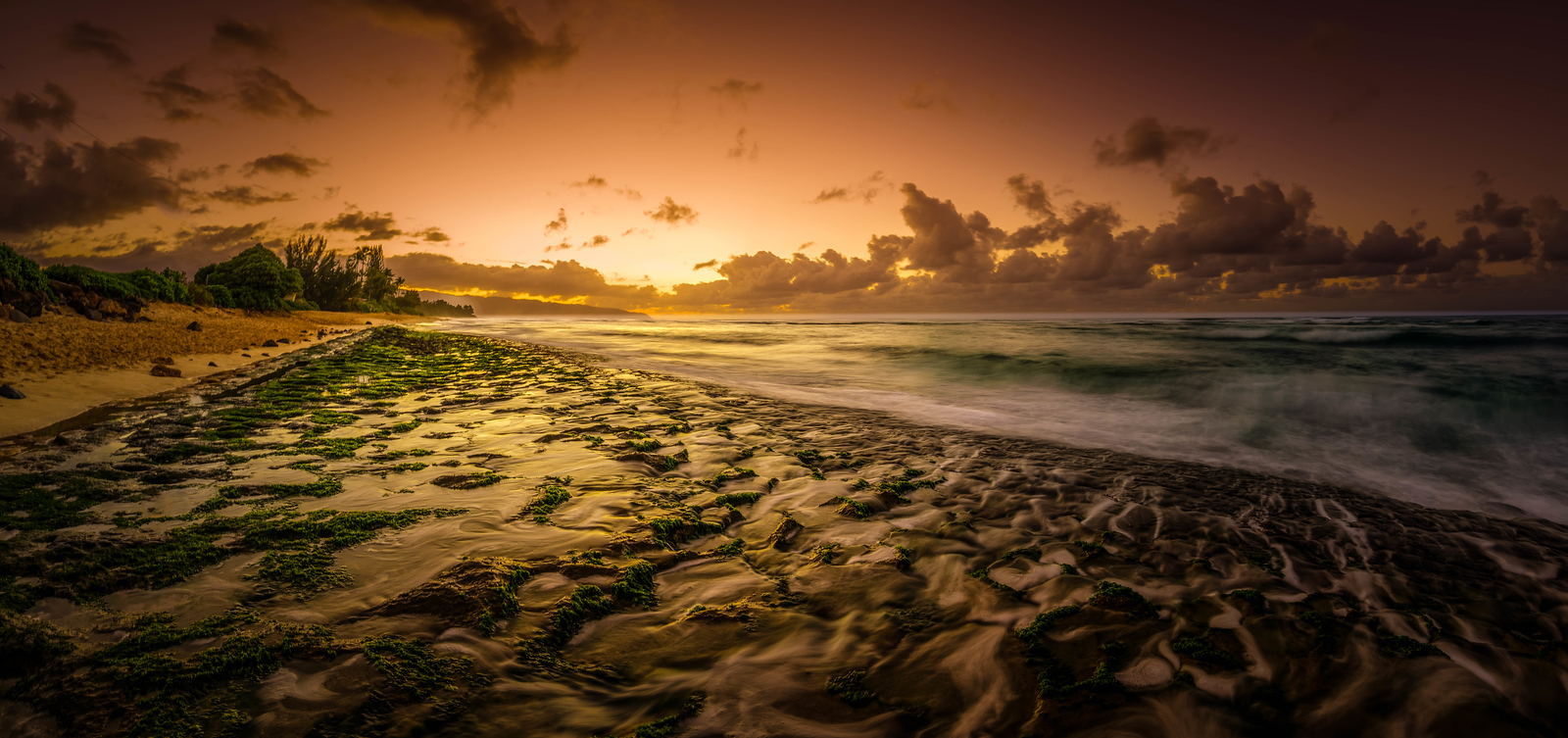 Turtle Beach Sunset