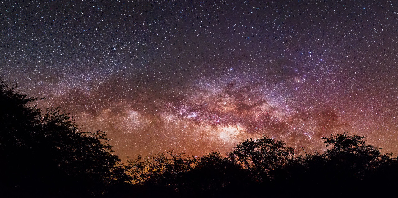 Hawaiian Milky Way
