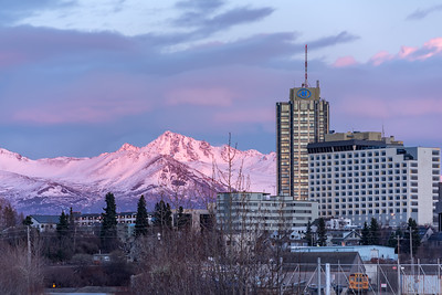 Anchorage Alpenglow