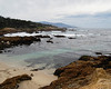 Ocean view on the 17 mile drive about Monterey Bay, California - Feb 09