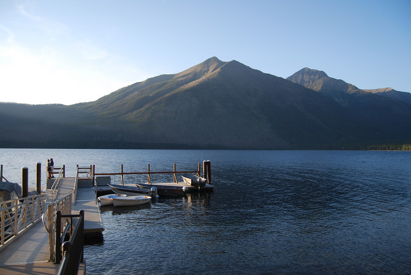 Lake McDonald from the Lodge, in Glacier NP, Montana.