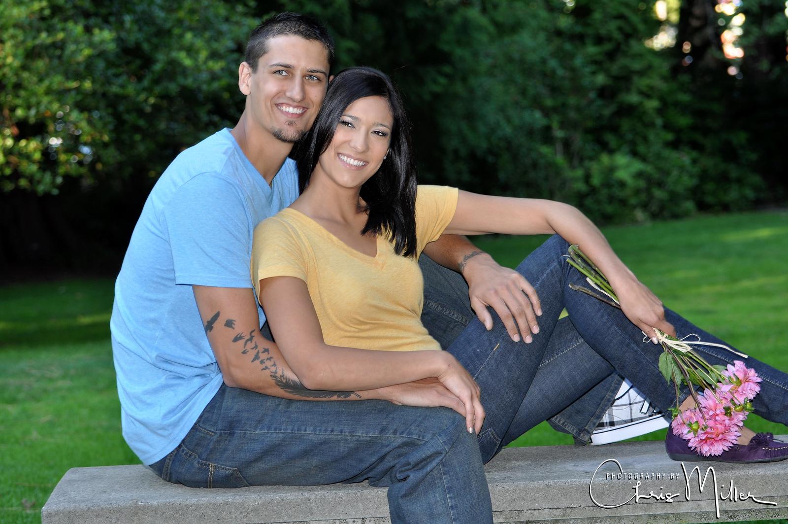 (955) Jillian and Robert's Engagement by Paula Miller