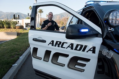 (627) Arcadia PD Patrol 2-11-16 Photography by Chris Miller