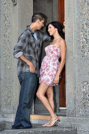 (744) Jillian and Robert's Engagement by Paula Miller