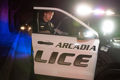 (1198) Arcadia PD Patrol 11-11-15 Photography by Chris Miller